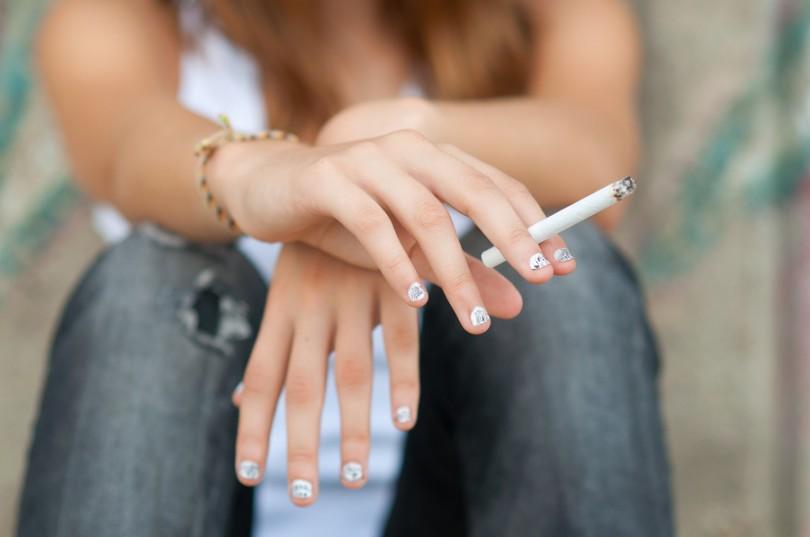In Italia il 37% degli adolescenti fuma
